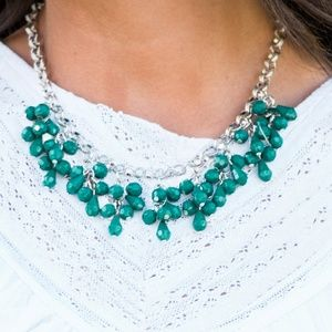 Paparazzi 5 Piece Green Matching Jewelry Bundle